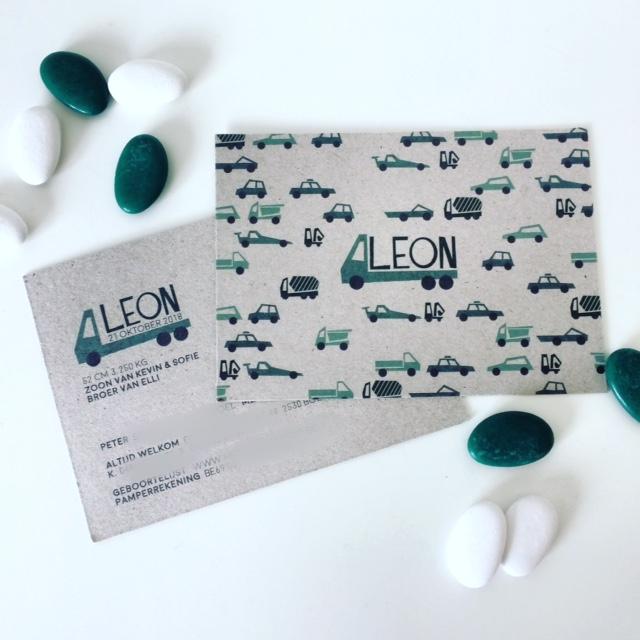 Geboorte Leon!