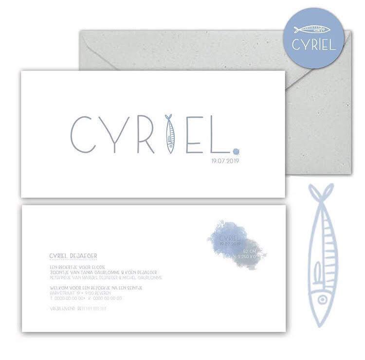 Geboorte Cyriel!